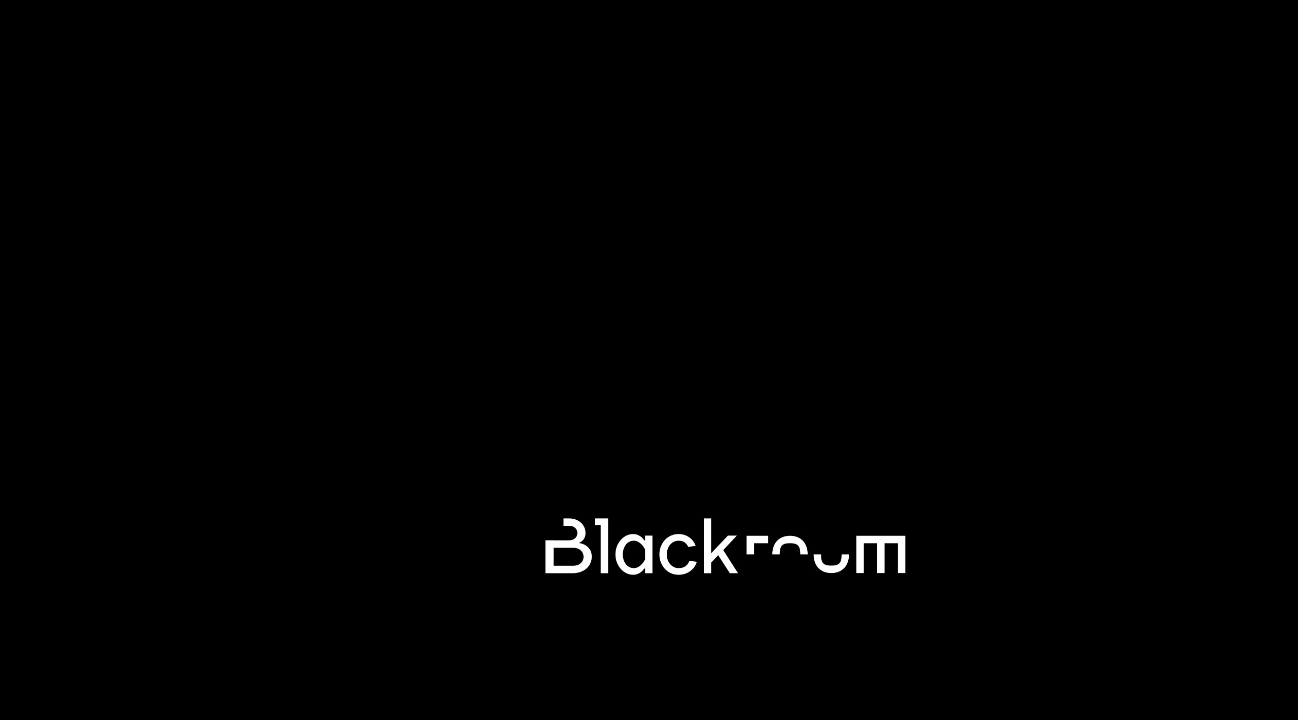 Branding & Graphic Identity for the Black Room brand | Design by erva