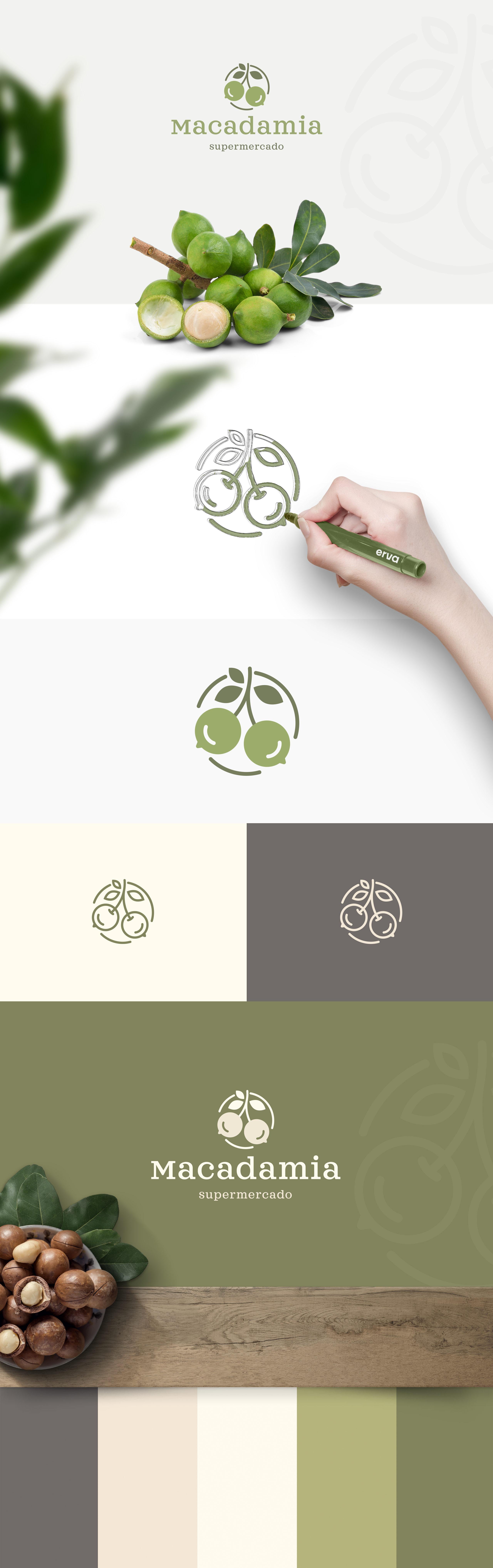 Macadamia Supermercado - Branding by erva