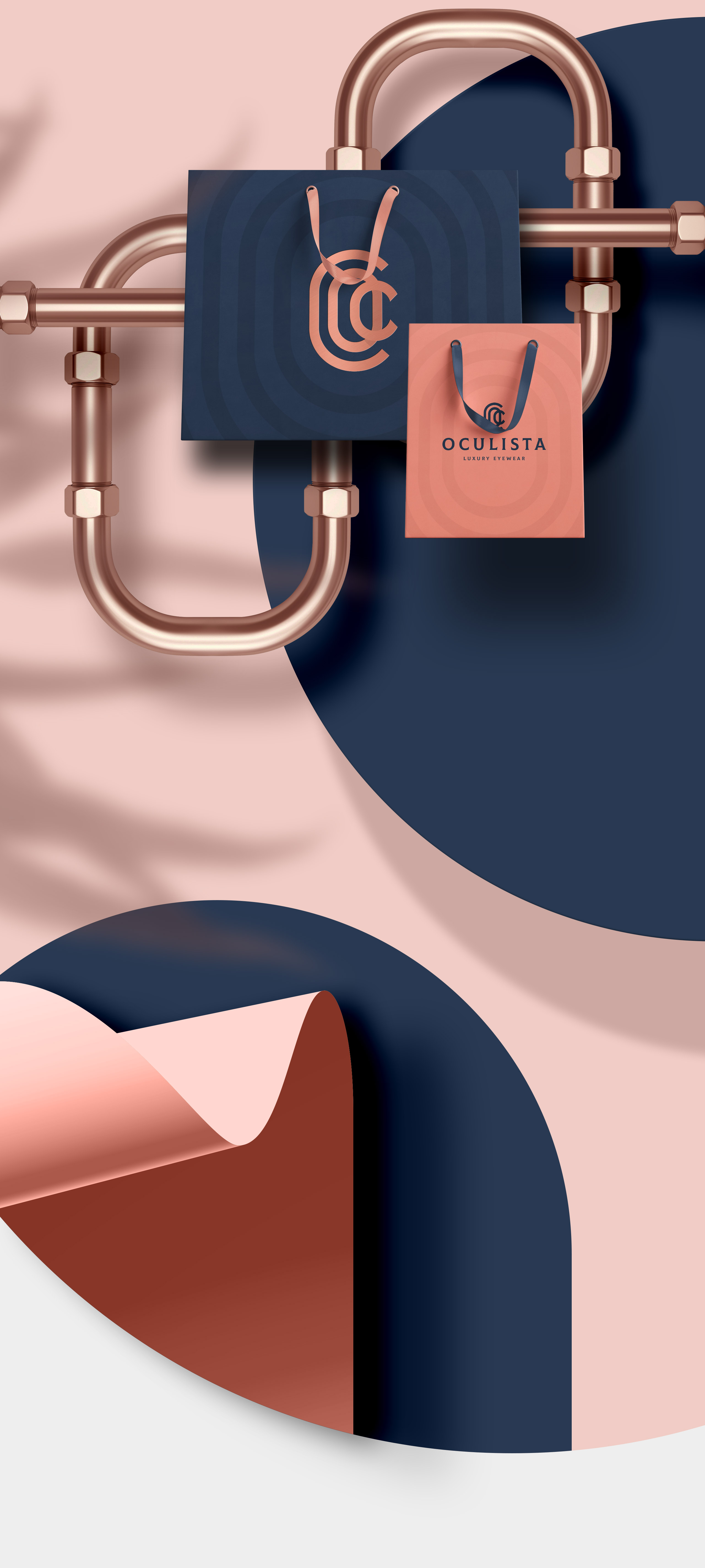 Oculista Luxury Eyewear - Branding by erva