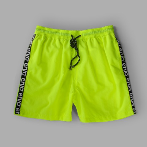Erva Swim Shorts – Green Neon