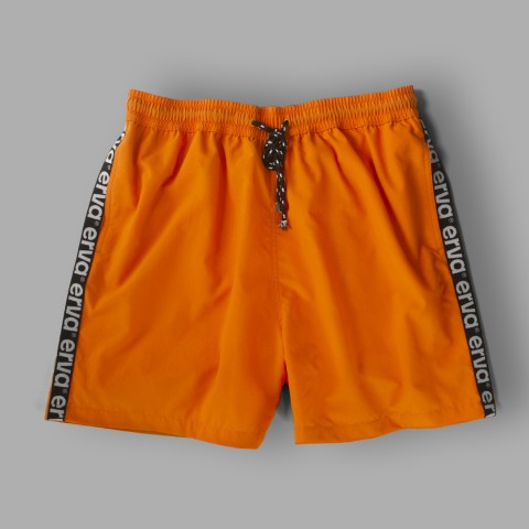 Erva Swim Shorts – Orange Neon